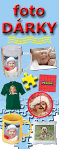 Fotopotisk - zakázkový potisk puzzle obrázků, hrnků, triček, podložek, polštářků, kalendářů, pexes, hodin, půllitrů